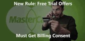 MasterCard Rule On Free Trial Nutra Merchants
