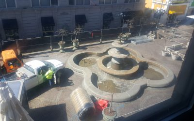 The Federal Hill Fountain Renovation