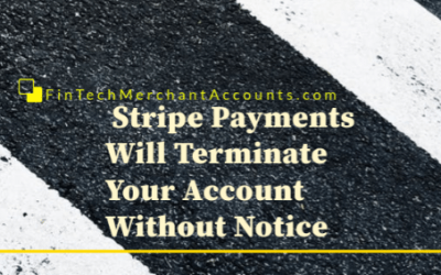 Stripe Terminated My Merchant Account Without Notice